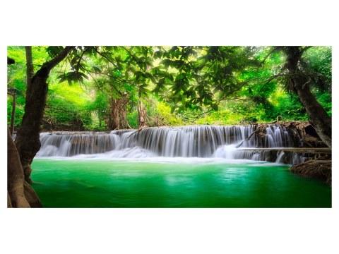 Waterval motief tropisch