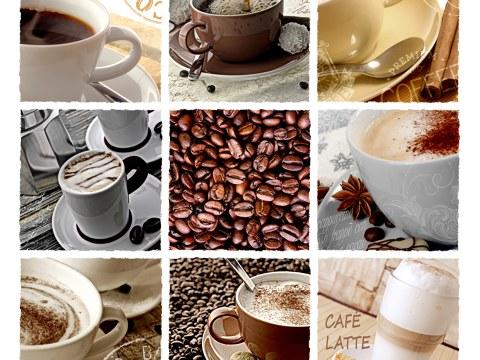 Koffie collage