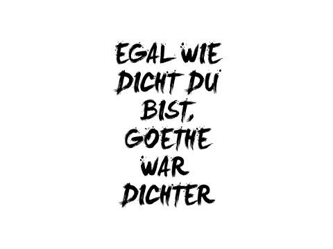Goethe citaat