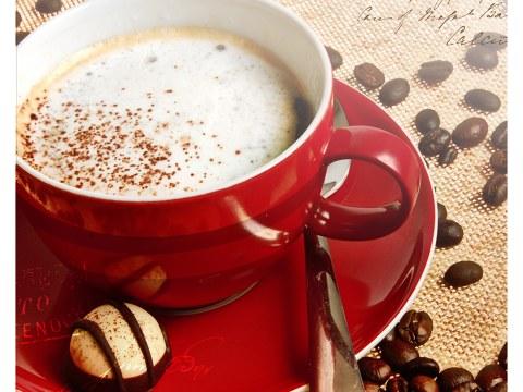 Koffie poster