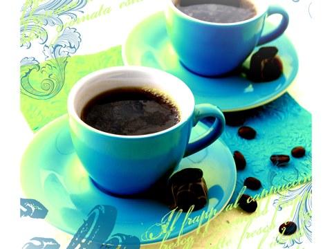 Koffiekopjes foto