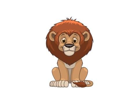 Leeuw kinderfoto