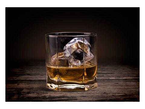 Whiskey Glas foto