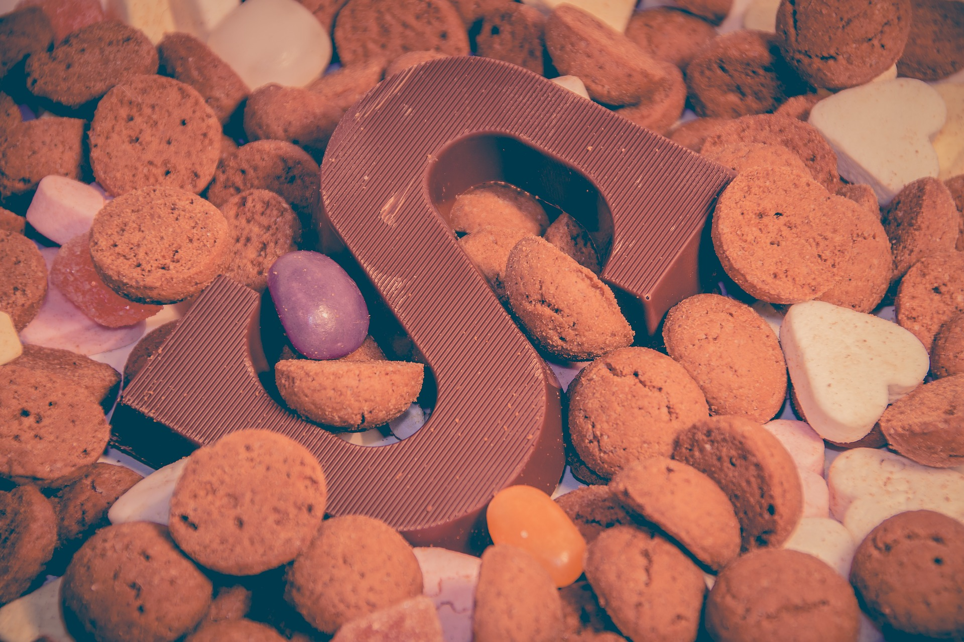 Sinterklaas cadeau snoepgoed