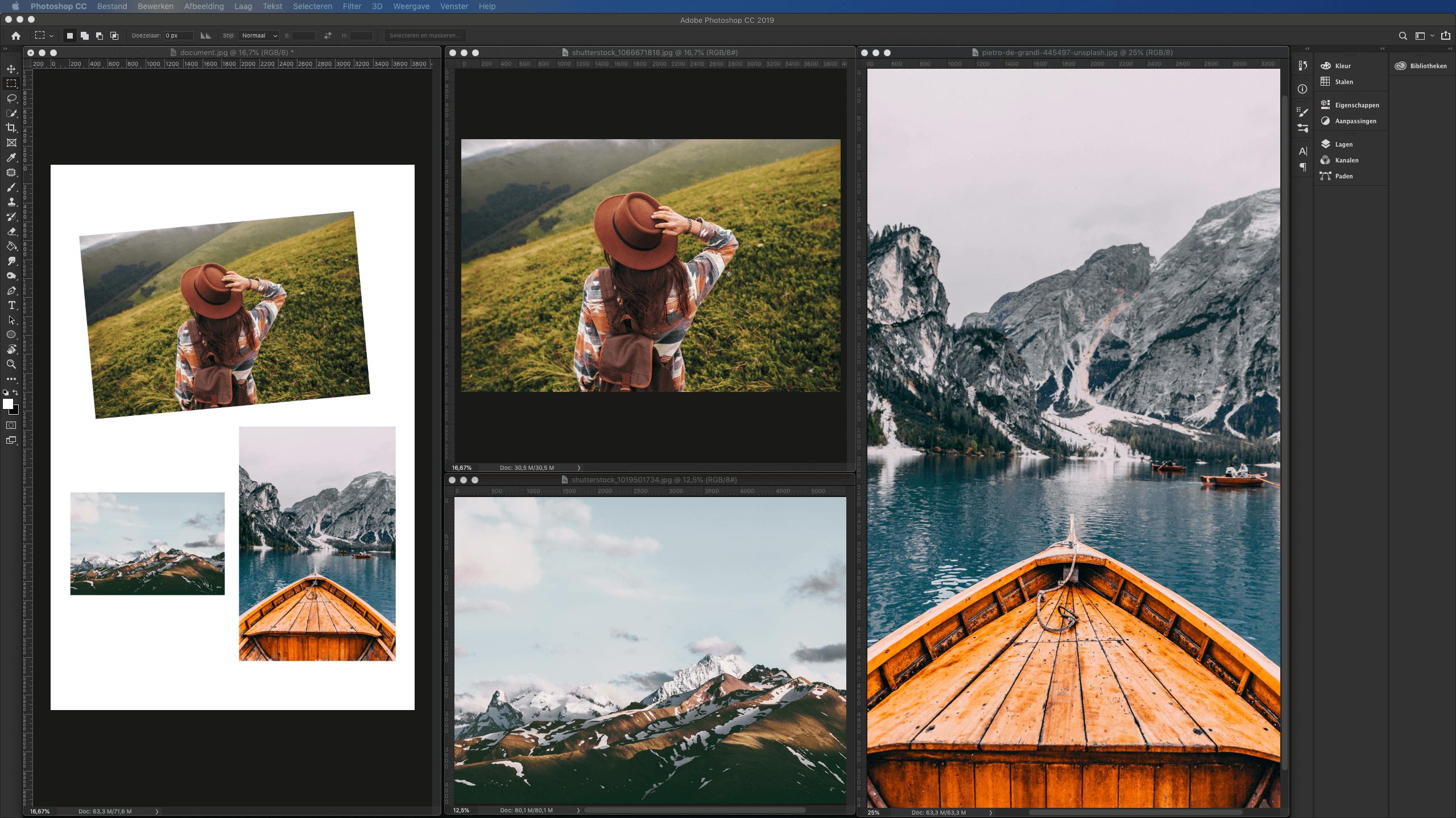 Foto's digitaliseren met adobe fotoshop