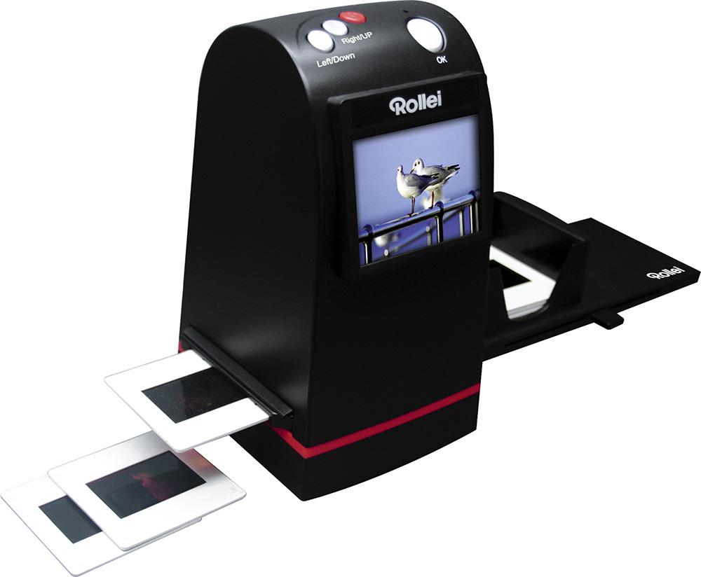 Foto's digitaliseren met een dia scanner