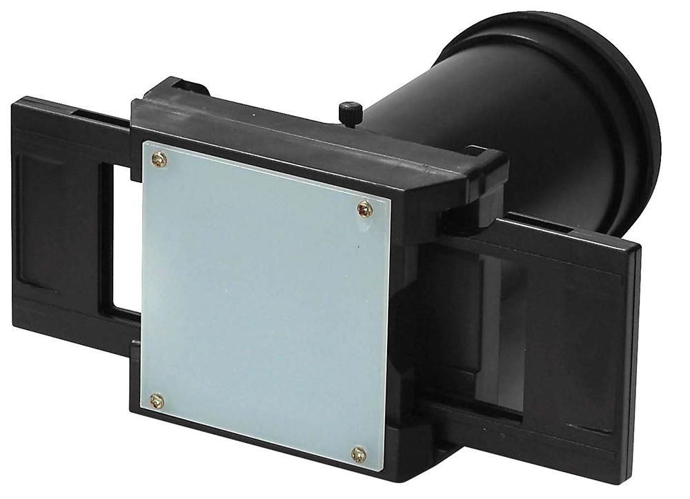 Foto's digitaliseren met een camera opzetstuk