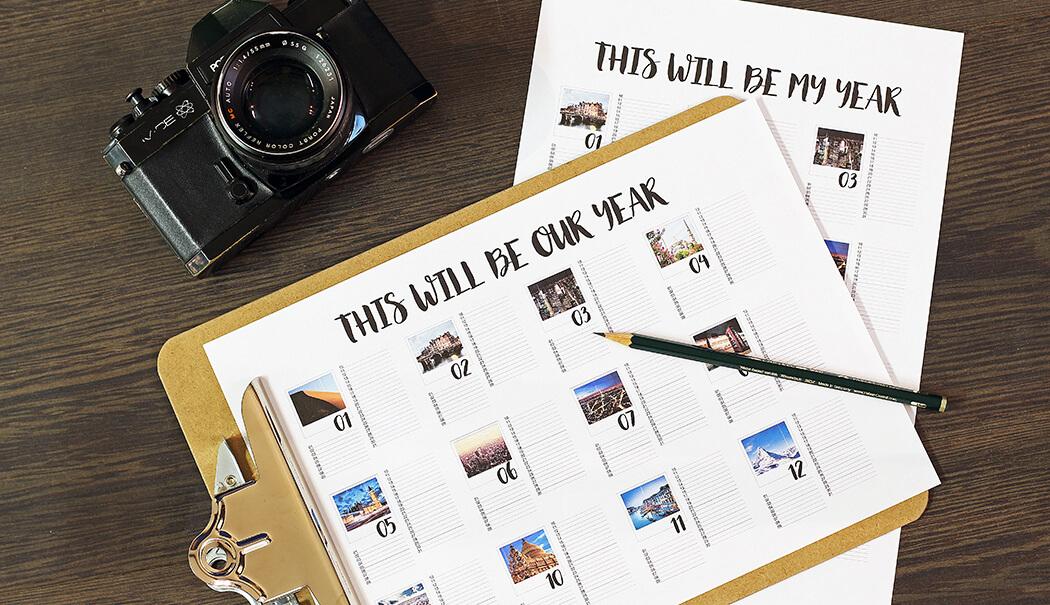 Zelf een kalender maken met jouw eigen foto's