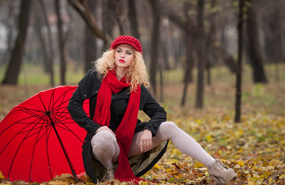 bokeh fotografie model fashion