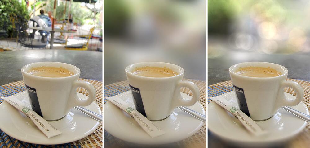 bokeh fotografie koffie achtergrond