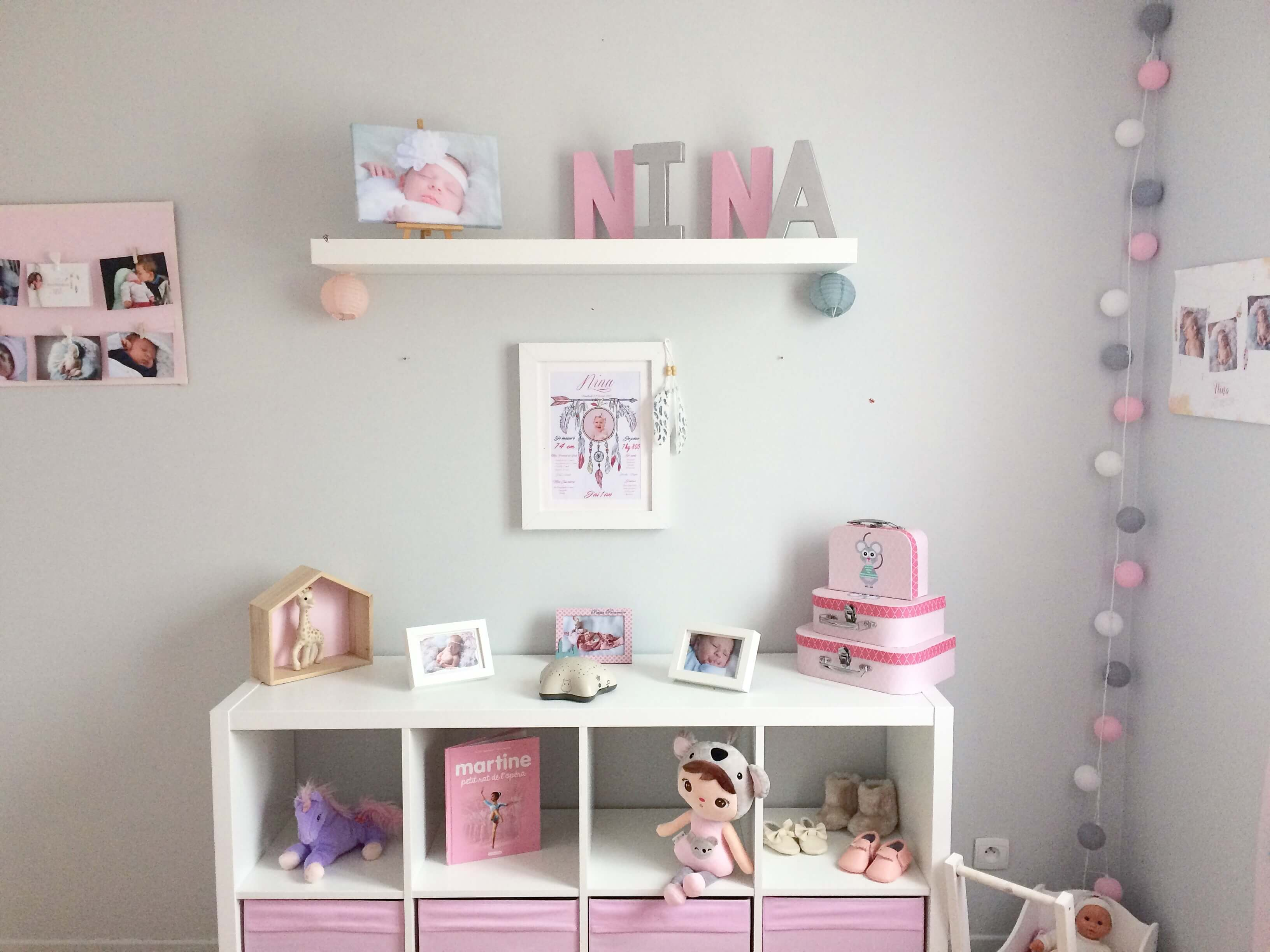 Roze Muurdecoratie Kinderkamer.Babykamer Decoratie Tips Diy Foto S Myposter Blog