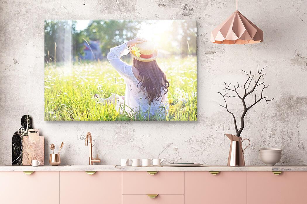 woondecoratie voorjaar foto op acryl