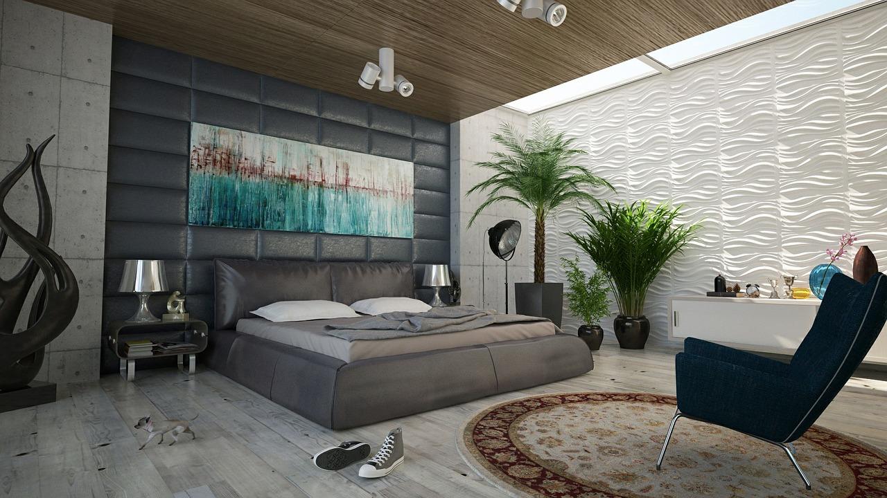 slaapkamer ideeen foto acryl
