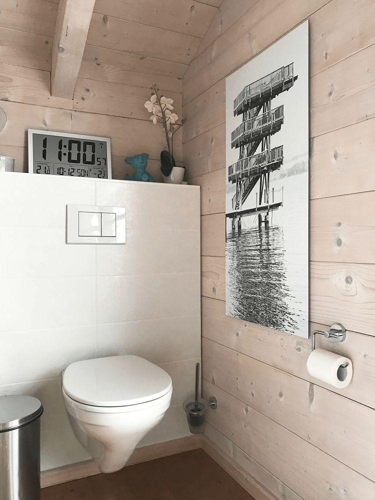 Badkamer ideeen zwart-wit foto
